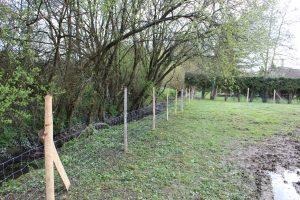 Aménagement de clôture